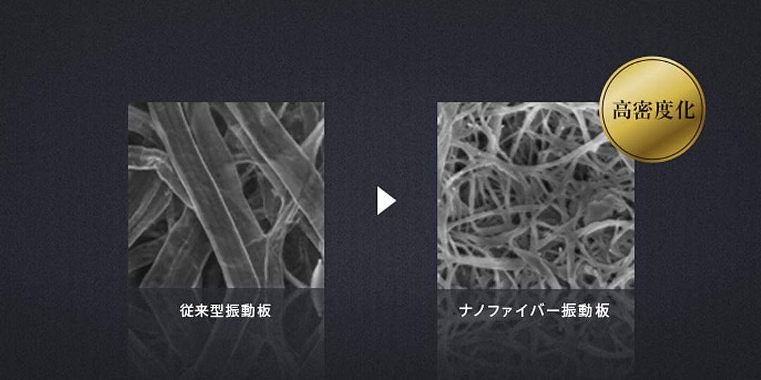 ナノファイバー振動板